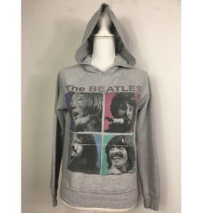 'The Beatles' Gray Hooded Sweatshirt
